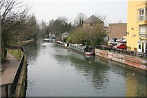 TL3514 : View of the River Lea by roger geach