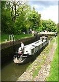 SU6269 : Entering Tyle Mill lock by Sandy B