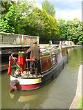 SU6269 : Exiting Tyle Mill lock by Sandy B