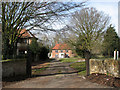 TL9991 : The former farmhouse at Hall Farm by Evelyn Simak