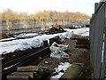 SO2900 : Railway siding, Pontypool & New Inn station by Jaggery