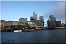 TQ3680 : Canary Wharf by Andrew Wood
