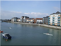 TQ2105 : River Adur - River front by Paul Gillett