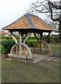 TR0145 : Ashford: Kennington Memorial Shelter by Chris Morley