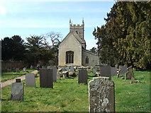 SK9239 : Belton church and graveyard by Richard Humphrey