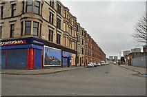NS5565 : Southcroft Street taken from Govan Road by Steven Brown