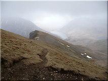 SH6360 : Path on Y Llymllwyd by Jeremy Bolwell