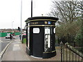 SU4314 : Public Convenience, Bitterne Triangle, Southampton by Alex McGregor