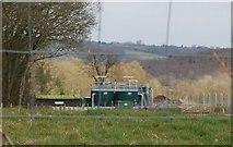 TQ7035 : Kilndown Sewage Works by N Chadwick