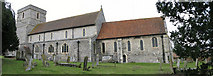 TR3154 : Church of St Mary the Virgin, Eastry by Nick Smith
