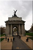 TQ2879 : Wellington Arch by Andrew Wood