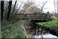 TQ3065 : Beddington:  Footbridge over the River Wandle by Dr Neil Clifton