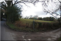 TQ7035 : Footpath signposted off Riseden Lane by N Chadwick