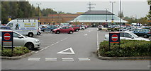 ST2995 : Sainsbury's, Cwmbran by Jaggery