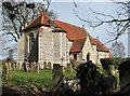 TM1679 : The church of St Leonard in Billingford by Evelyn Simak