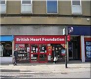 SE2627 : British Heart Foundation - Queen Street by Betty Longbottom