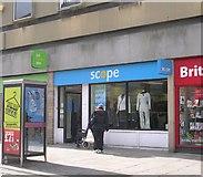 SE2627 : Scope - Queen Street by Betty Longbottom