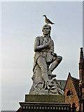 NX9776 : Robert Burns statue, Dumfries by Richard Dorrell