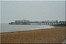 TQ8109 : Beach at Hastings, Sussex by Peter Trimming