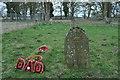 TL8995 : St. Andrew Church, Tottington - grave of William Hancock by Nicholas Mutton