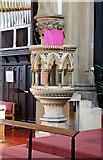 TQ1977 : St Paul, Grove Park, London W4 - Pulpit by John Salmon