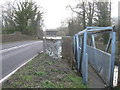 TR0650 : A28 Road bridge and footbridge over the Great Stour River by David Anstiss