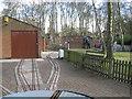 SJ6170 : Miniature railway sidings by Dr Duncan Pepper