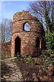 SJ7243 : A folly at Bridgemere Garden World by Steve Daniels
