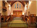 TQ5289 : St Michael & All Angels, Main Road, Gidea Park - Chancel by John Salmon