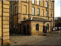SE1338 : Salt's Mill Weighbridge by David Rogers