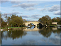 SP4408 : Swinford Bridge by Chris Gunns