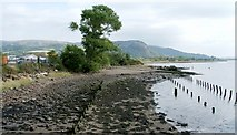 NS4074 : Dumbarton Foreshore by Lairich Rig