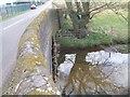 SJ8630 : Bridge over the Meece Brook by John M