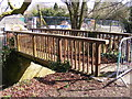 TM3877 : Footbridge over New Reach by Adrian Cable
