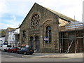 SW8032 : Drill Hall, Falmouth by Andrew Abbott