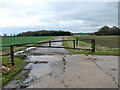 TM1880 : Former perimeter track on Thorpe Abbotts airfield by Evelyn Simak