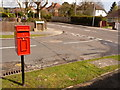 SY9995 : Broadstone: postbox № BH18 101, Abbotsbury Road by Chris Downer