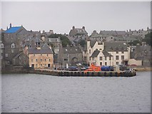 HU4741 : Lerwick waterfront at Small Boat Harbour by Robbie