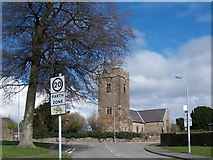SH4862 : Eglwys Llanbeblig from Lon Hendre by Eric Jones