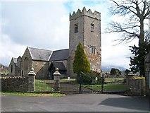 SH4862 : Eglwys Llanbeblig by Eric Jones
