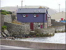 HU4039 : Waterfront buildings, Scalloway by Robbie