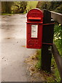 SY5695 : Wynford Eagle: postbox № DT2 3, Shatcombe Farm by Chris Downer