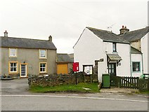 NY2436 : Postbox and noticeboard, Uldale by Rose and Trev Clough
