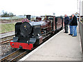 TG3018 : No.6 'Blickling Hall' 2-6-2 ZB class locomotive by Evelyn Simak