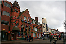 SK5319 : Cattle Market, Loughborough by David Lally