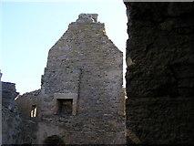 HU4039 : Scalloway Castle interior by Robbie