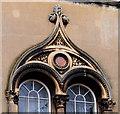 J3372 : Elmwood Hall initials, Belfast (1) by Albert Bridge