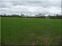 SS9712 : Tiverton : Blundell's School, Cricket Field by Lewis Clarke