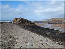 SS2006 : The breakwater and Chapel Rock by Rod Allday
