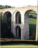 SY3192 : The reinforced arch of Cannington Viaduct by M Etherington